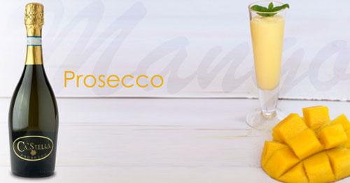 Mango Prosecco Coctail