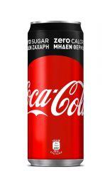 Coca Cola Zero 4x6x330 (Κουτί)