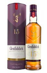 Glenfiddich 15 Year Old Single Malt Scotch Whisky