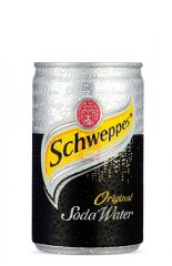 Schweppes Soda Water 4x6x0.33L Can
