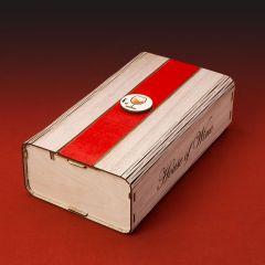 Wooden Box 2 φιαλών