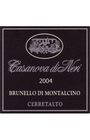 """Brunello di Montalcino """"Cerretalto"""""""