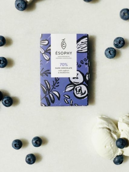 Yoghurt & Blueberries bar 50gr