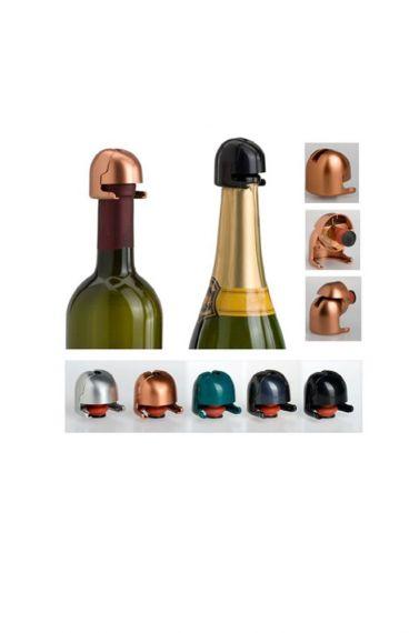 Πώμα κρασιού & σαμπάνιας Μαυρο