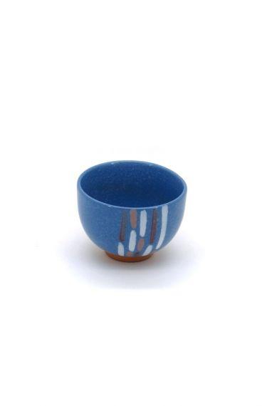 Πολύχρωμη πορσελάνινη κούπα μπλε