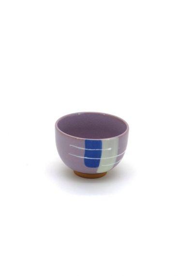 Πολύχρωμη πορσελάνινη κούπα μοβ