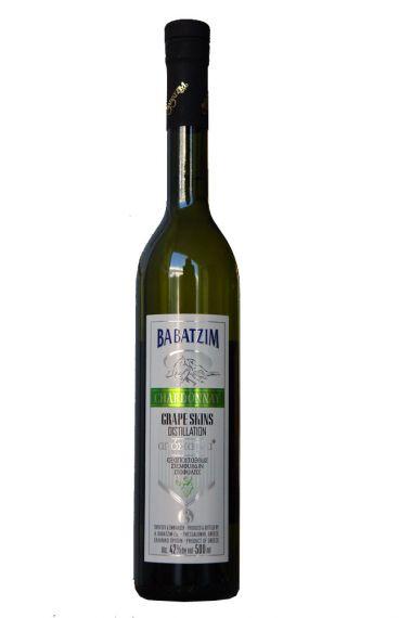 Μπαμπατζίμ Απόσταγμα - Chardonnay 0.5lt