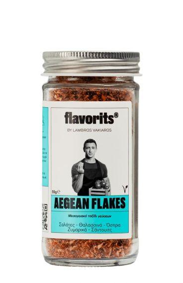 Flavorits by Lambros Vakiaros Aegean Flakes 60gr