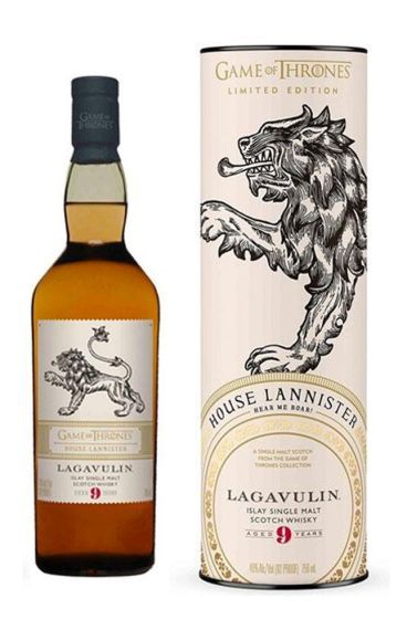 GOT Lagavulin 9 Year Old - House Lannister