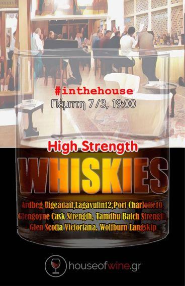 (7/3/2019) High Strength Whisky Tasting
