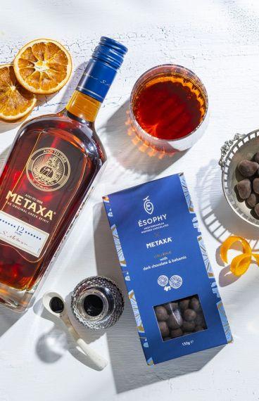 Metaxa 12 Stars ESOPHY Chocolate Gift Pack
