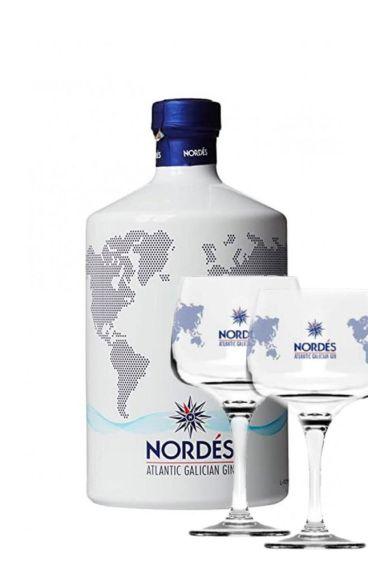 Nordes Gin με δώρο 2 ποτήρια