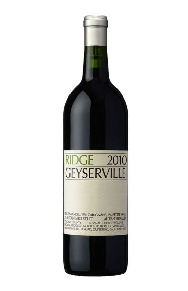 Ridge - Geyserville