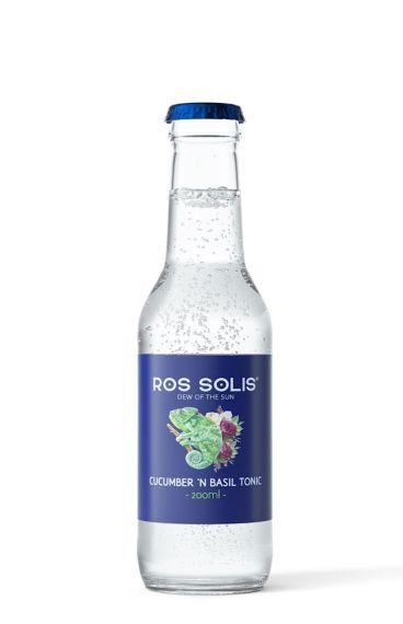Ros Solis Cucumber 'n Basil Tonic
