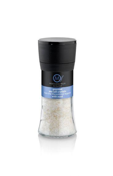 Gourmet Sea Salt with ouzo 95gr