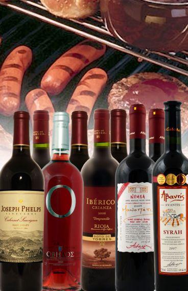 Τα κρασιά της Ψησταριάς