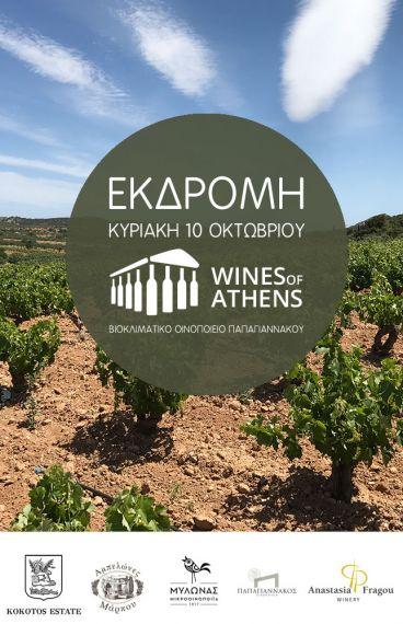 (10/10/21) Εκδρομή Wines of Athens στο Οινοποιείο Παπαγιαννάκου