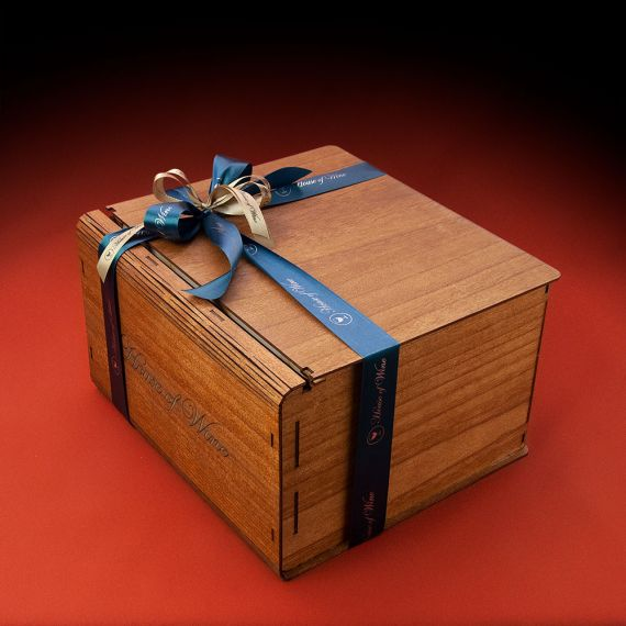 Wooden Box 6 φιαλών