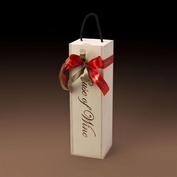 Chianti in a Wooden Box