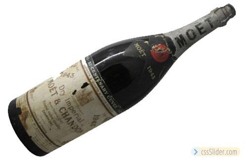 #10 Moët & Chandon Bicentenary Cuvée Dry Imperial 1943 – $1,392